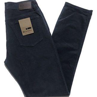 Pantalone-HOLIDAY-Jeans-PILOR-Microfantasia-mod-AKROS-Uomo-COTONE-TG-46-48-50-52-54-56-58-60-Invernali-Caldi-Pesan-B077YPN7MQ