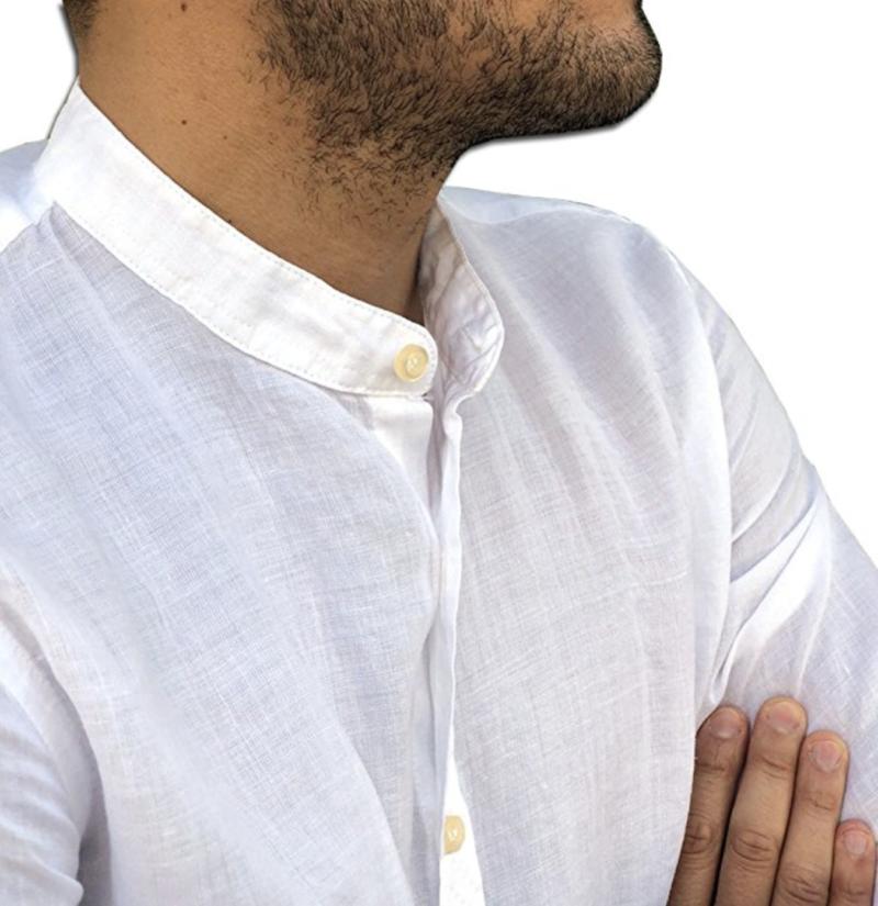 Camicia casual sempre di uomo elegante coreana CAMICIE moda gqAwrEgIx