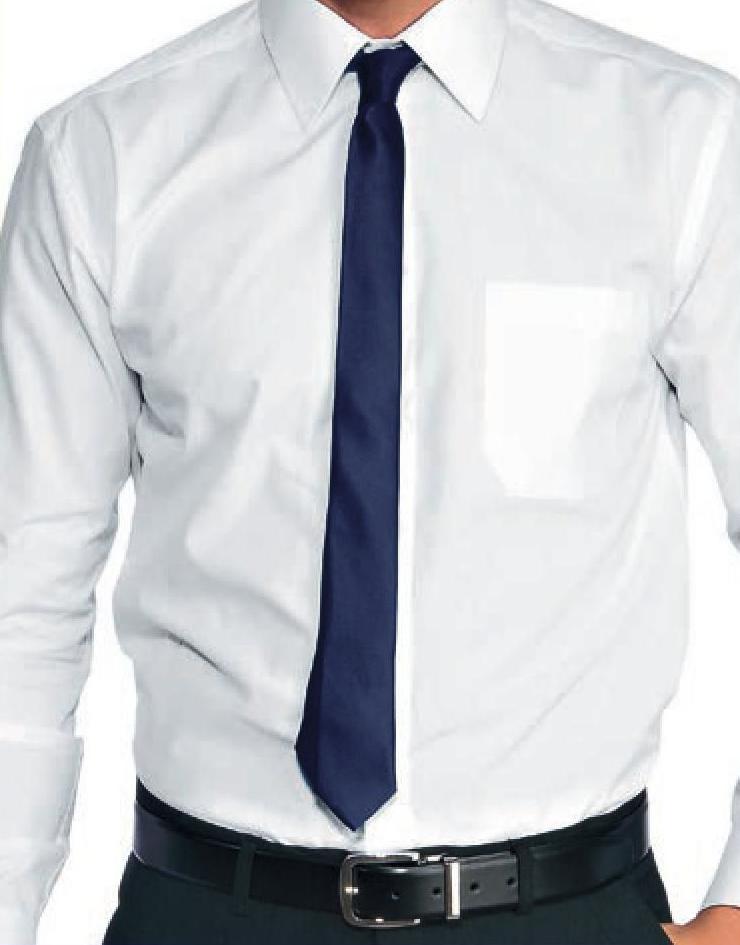 miglior servizio f51ed 7168a Cravatta uomo modello stretto elegante Nero Blu Bianco